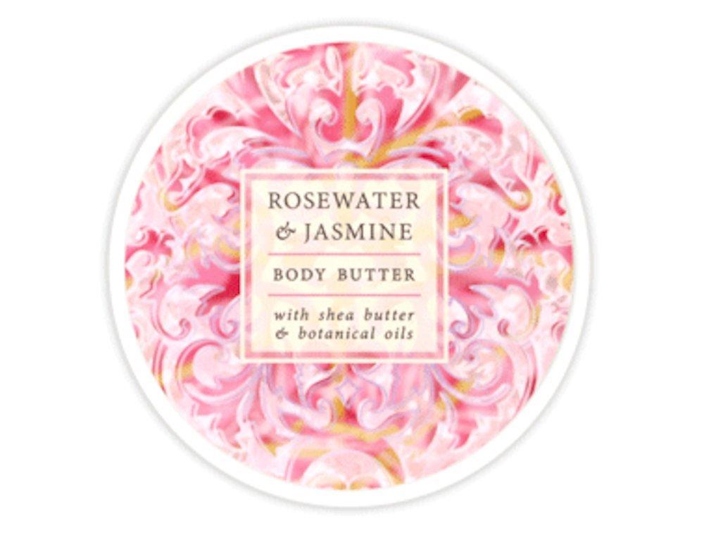 Greenwich Bay - 8 oz. Botanical Body Butter - Rosewater & Jasmine