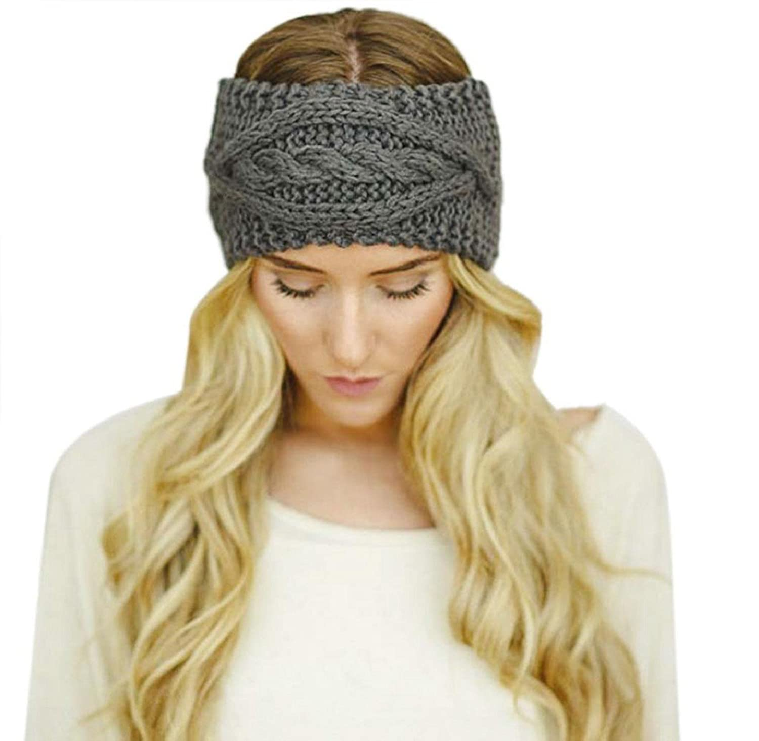 Damen Ski Kappebeanie Stirnband Kolylong headband One Size
