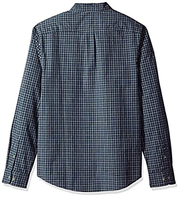 Original Penguin Men's Heathered Plaid Dress Shirt