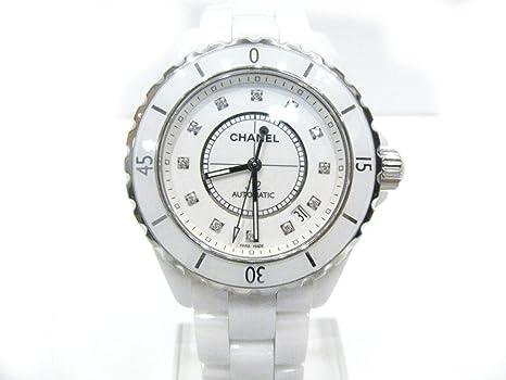 6190cfdaa17a [シャネル] CHANEL J12 12Pダイヤ 時計 ウォッチ ホワイト ホワイトセラミック H1629 [中古]