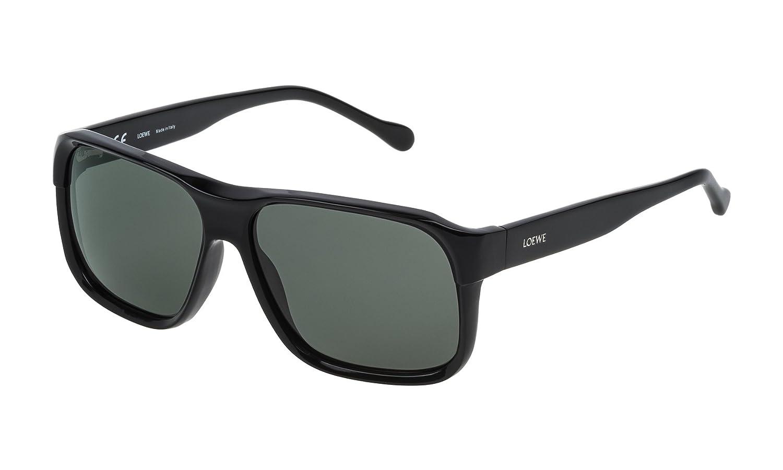 Loewe SLW964M580700 Gafas de sol, Shiny Black, 58 para Mujer ...