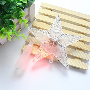 Tree Toppers 3 Sizes Christmas Tree Pers Star Lights