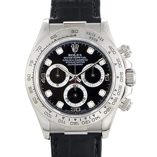 Rolex Daytona Automatic-Self-Wind 16519 - Reloj de Pulsera para Hombre (Certificado