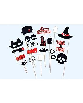 Doiy DYBOOTHHA Kit d\u0027Accessoire pour Photobooth Halloween
