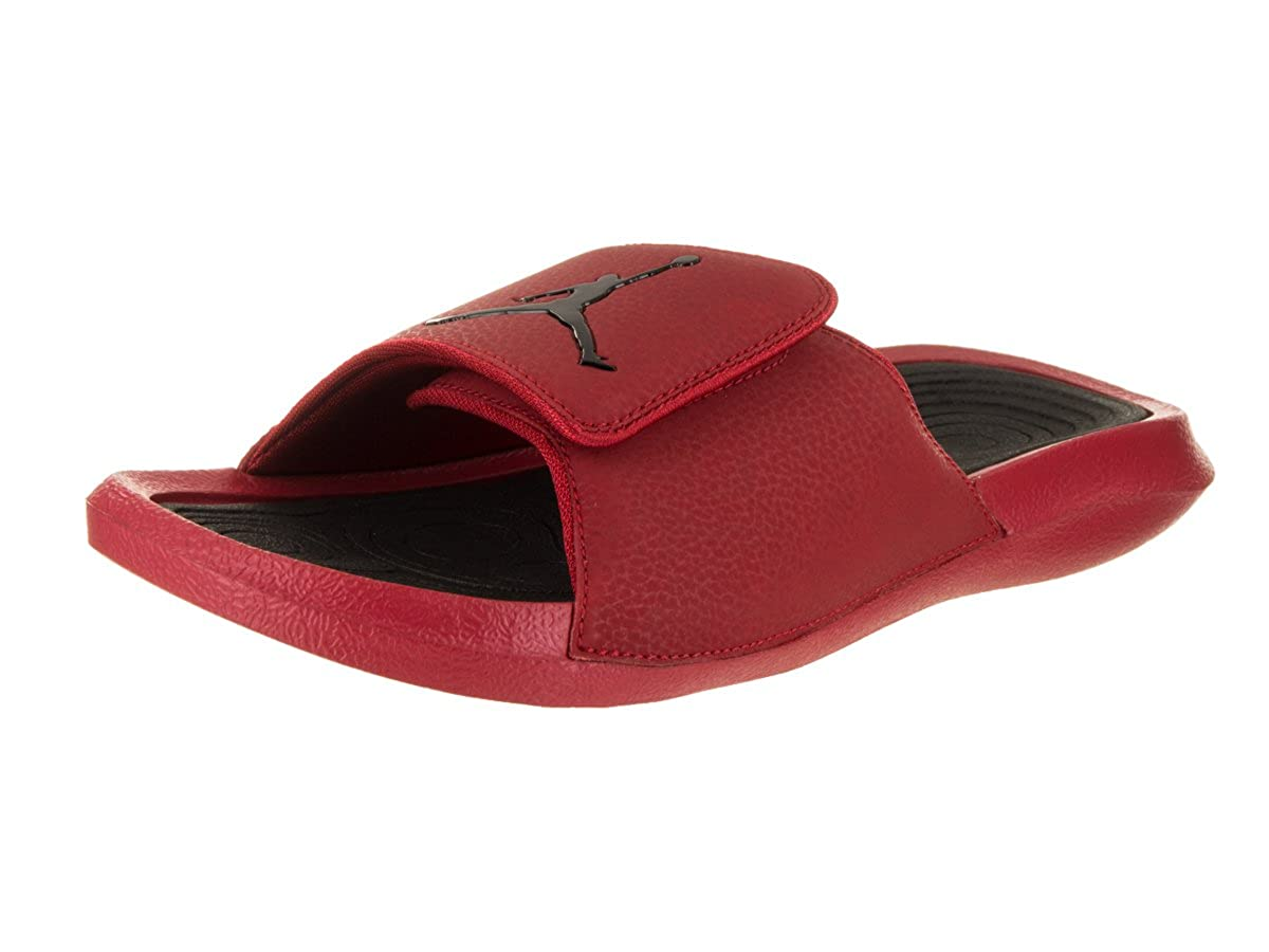 3c6094736a2261 Nike Men s Jordan Hydro 6 Sandals Gym Red Black 10 D(M) US  Buy Online at  Low Prices in India - Amazon.in