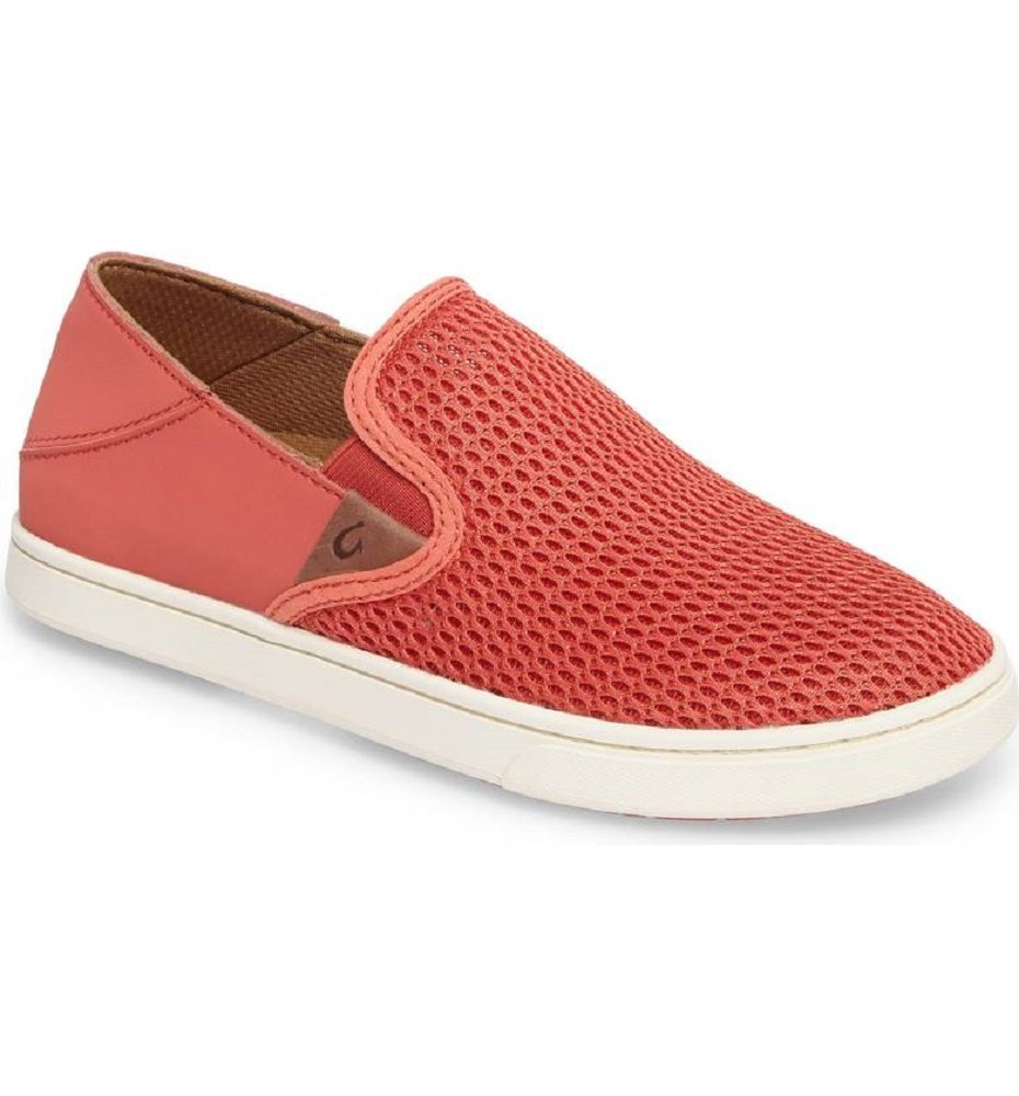 OLUKAI Pehuea Shoes - Women's B0733DWKQZ 5 B(M) US|Paprika/Paprika