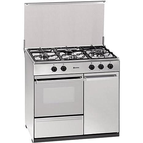 Cocina de gas Meireles E2940DVX horno eléctrico: 412.85 ...