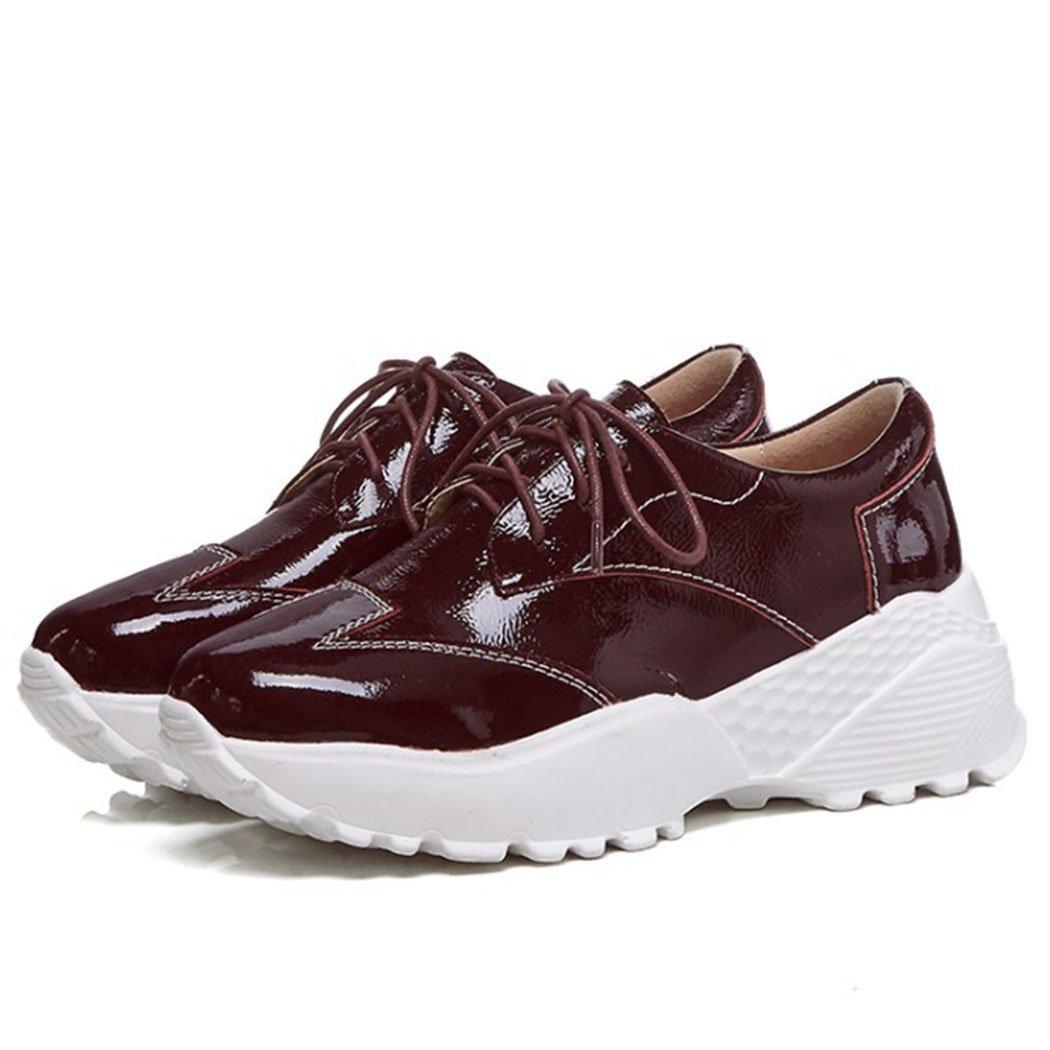 GAOLIXIA Zapatillas de Deporte para Mujer Zapatos Ligeros para Correr Zapatos Casuales Zapatos para Caminar al Aire Libre Cómodas y Cómodos para Caminar 39 EU|Borgo?a