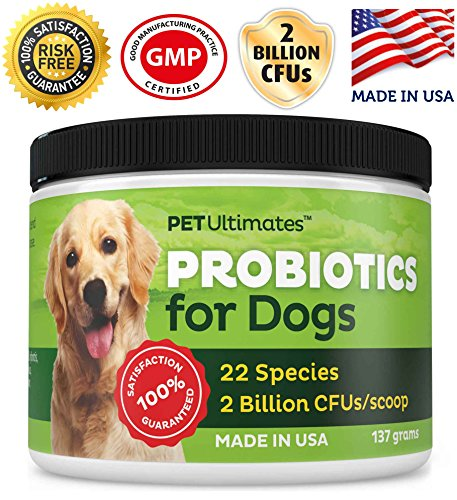 Pet Ultimates Probiotics for Dogs Dogs