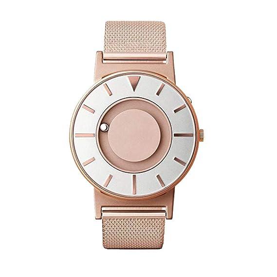 Eone la Bradley reloj pulsera de malla de oro rosa original nuevo modelo 2017: Amazon.es: Relojes