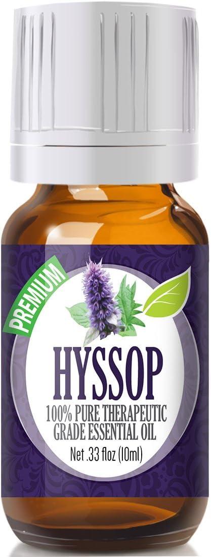 Hyssop Essential Oil - 100% Pure Therapeutic Grade Hyssop Oil - 10ml