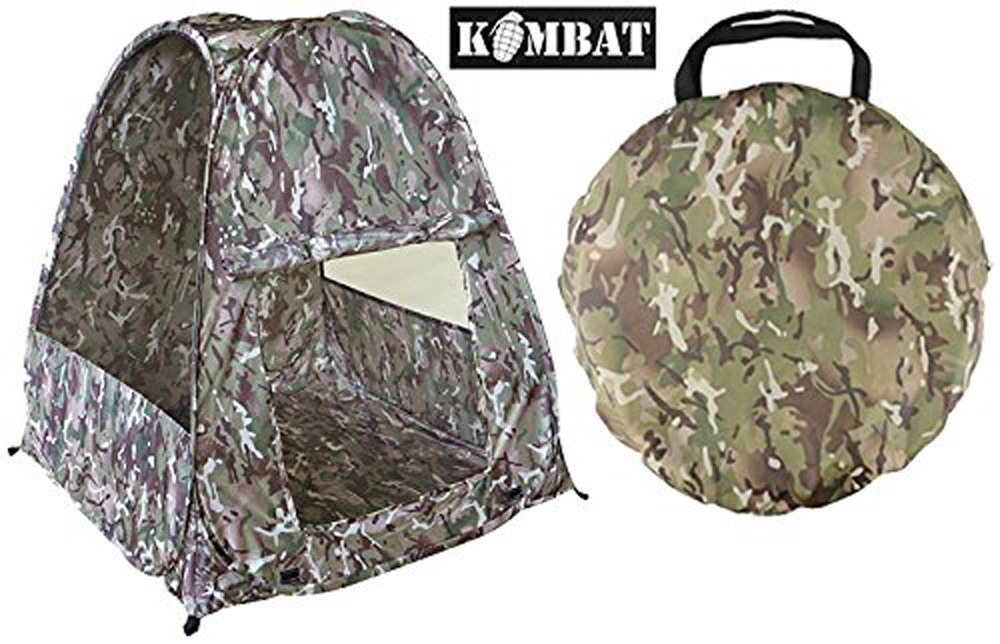 Kombat Kids Boys Combat Outdoor Army Camo Childrens Play Pop Up Camping Tent Den Base