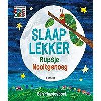 Slaap lekker Rupsje Nooitgenoeg: een flapjesboek