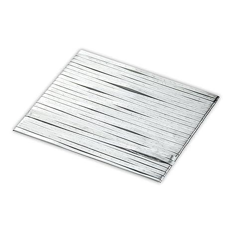 VIKOCELL 10m X 5mm X 0.2mm Cobre estañado Cable de barra solares fotovoltaica para panel
