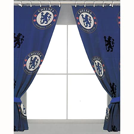 Chelsea 54u0026quot; Drop Curtains Crest Design