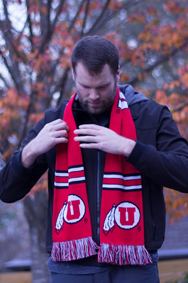 University of Utah Knitted Classic Tradition Scarves Utah Utes Scarf