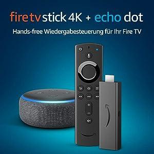 Fire TV Stick 4K Streaming-Mediaplayer mit Alexa