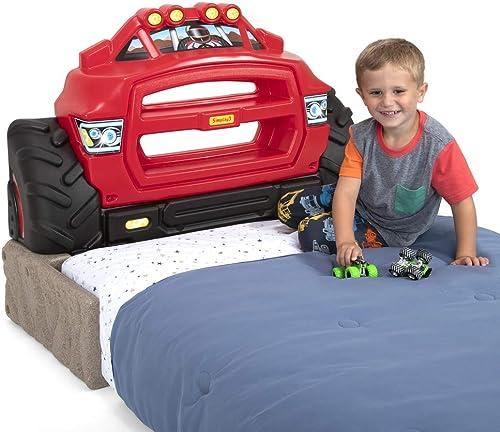 Simplay3 Monster Truck Twin Size Headboard