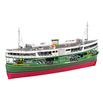 fascinations Metal Earth Hong Kong Star Ferry 3D Metal Model Kit: Toys & Games