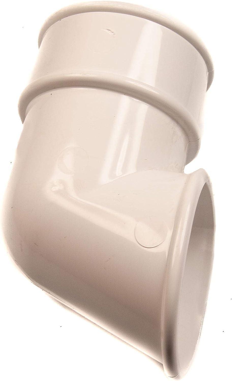 68mm Drain Pipe Down Pipe Rainwater Clip White