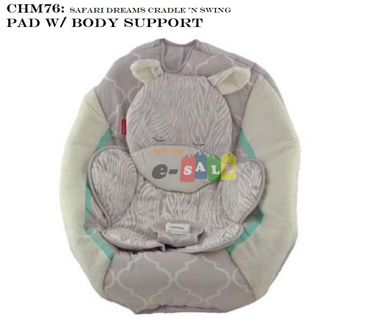Fisher Price Cradle n Swing Replacement Pad CHM78 Moonlight Meadow Pad