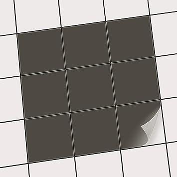 Fliesenaufkleber 100 Sta Ck In 10 X 10 Cm Fliesendekor Fliesen