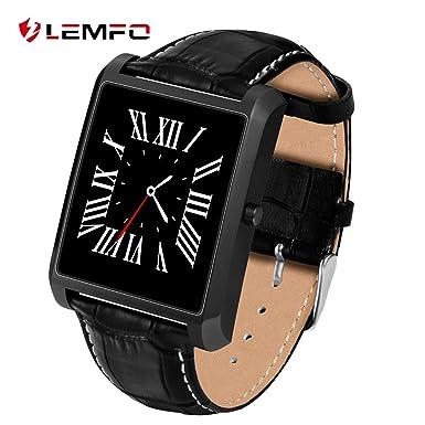 Lemfo LF20 Bluetooth reloj inteligente 1.54 IPS Pantalla MTK2502 Heart Rate Monitor reloj inteligente para iPhone