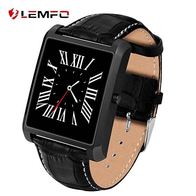 Lemfo LF20 Bluetooth reloj inteligente 1.54 IPS Pantalla MTK2502 Heart Rate Monitor reloj inteligente para iPhone