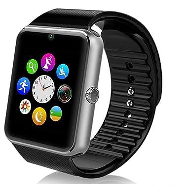 deyoun® Teléfono Móvil Reloj Bluetooth Smart Watch Pulsera con Cámara SIM para Samsung Galaxy S7