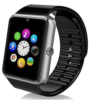 Handy Uhr Mit Sim Karte.Smartwatch Android Deyoun Handy Uhr Bluetooth Smartwatch Uhr Fitness Armband Mit Kamera Sim Karte Slot Nfc Funktion Für Samsung Galaxy S7 Edge S6