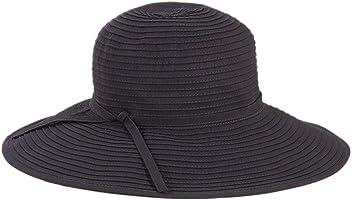 46d181ca00697 San Diego Hat Company Women's Ribbon Medium Brim Floppy