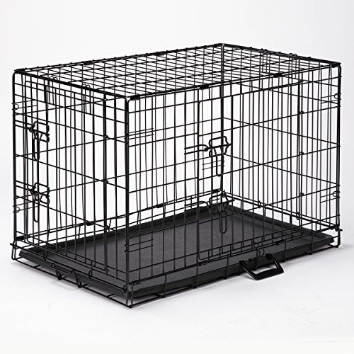 Easy Dog Crates - Black; X-Small, 18