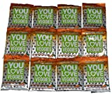 You Love Fruit Veggie Leather Carrot Chia - 12 Pouches