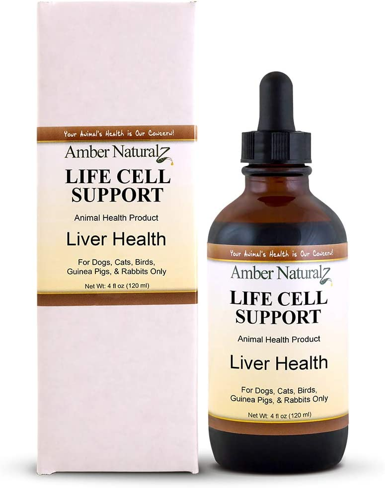 AMBER NATURALZ – Life Cell Support – Liver Health – for Petz – 4 Ounce