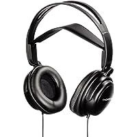 Thomson Fernsehkopfhörer (mit getrennter Lautstärkeregelung, ideal für Senioren und Hörgeschädigte, mit 5m langem Kabel, Over-Ear, geschlossen, inkl. Adapter für HiFi-Anlagen)