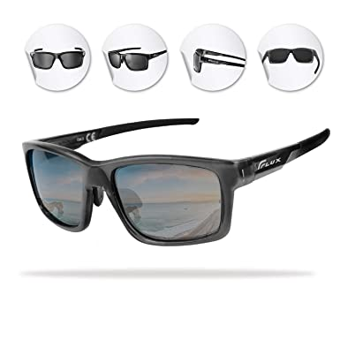 2f36bb8912 Flux Polarized Sports Sunglasses with Anti-Slip Function and Light Frame -  for Men and