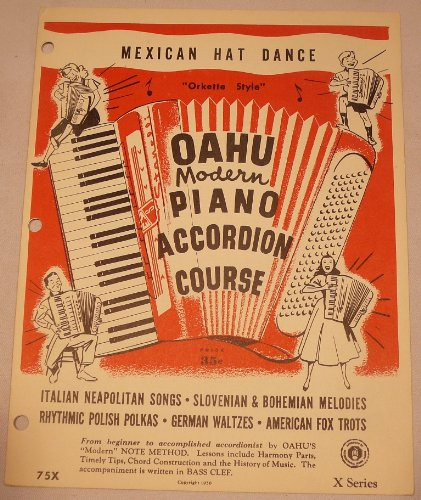 """Mexican Hat Dance - """"Orkette Style"""" (Oahu Modern Piano Accordion Course)"""