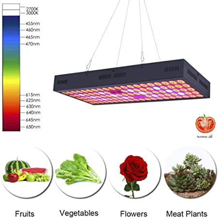 3000W LED Grow Light Panel Full Spectrum Lamp Bulb for Hydroponics Plants Indoor