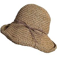 Weimay Plegable Sombrero de Playa Sombrero de Mano