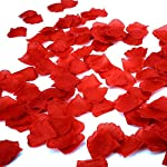 simuer-Rose-Petals-2000-PCS-Red-Silk-Flower-Petals-Wedding-Decoration-Artifical-Petals-for-Wedding-Confetti-Flower-Girl-Bridal-Shower-Hotel-Home-Party-Valentine-Day-Romantic-Proposal