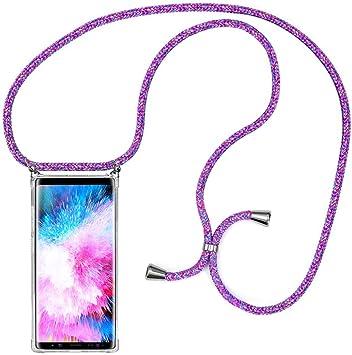 MXKOCO Carcasa de movil con Cuerda para Colgar Samsung Galaxy Note ...
