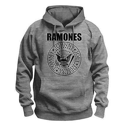 Los Ramones~oficial su?ter~~sello presidencial Top sudadera gris Gris gris