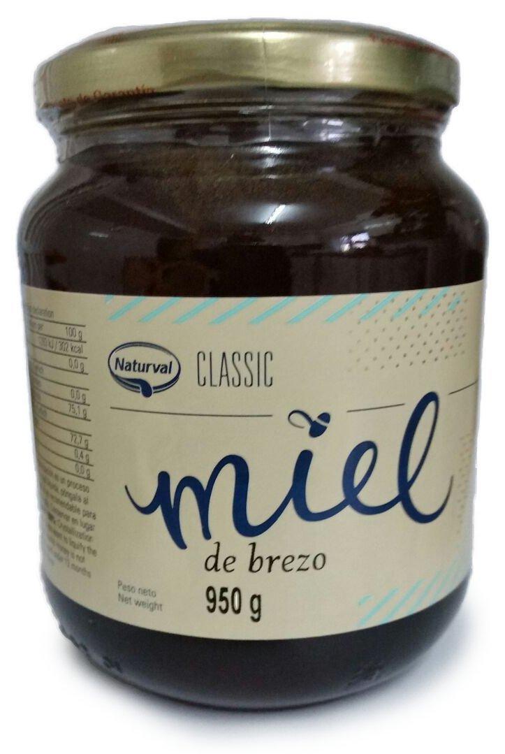 Naturval - Miel de Brezo, Aroma Intenso y Sabor Rico y Dulce, 950 g: Amazon.es: Alimentación y bebidas