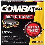 Combat Combat1258 MAX Killing Roach Bait Station, 16-Pack