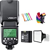 Godox V860II-C E-TTL HSS 1/8000s 2.4G GN60 Li-ion Battery Camera Flash Speedlite Light Compatible for Canon EOS Cameras with