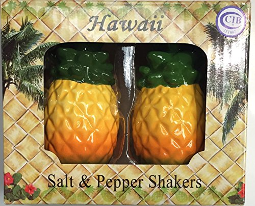 hawaiian salt and pepper shakers - 8