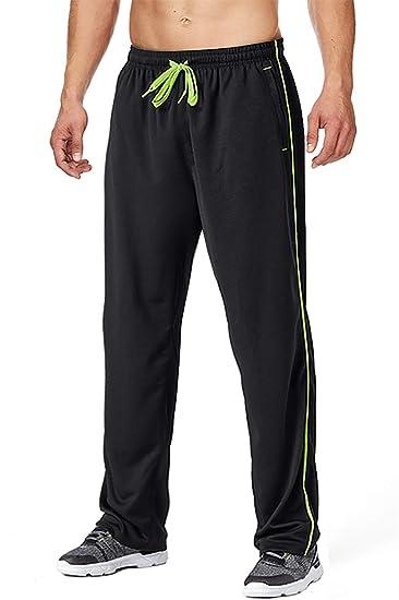 Amazon.com: FASKUNOIE - Pantalones de yoga para hombre ...