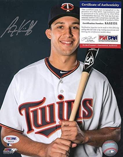 32e16244b Alex Kirilloff Autographed Photo - Minnesota Twins 8x10 Psa8a52131 ...
