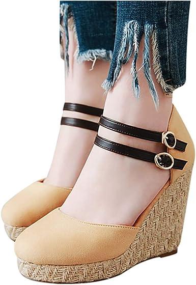 Dasuy Womens Platform Wedges Sandals