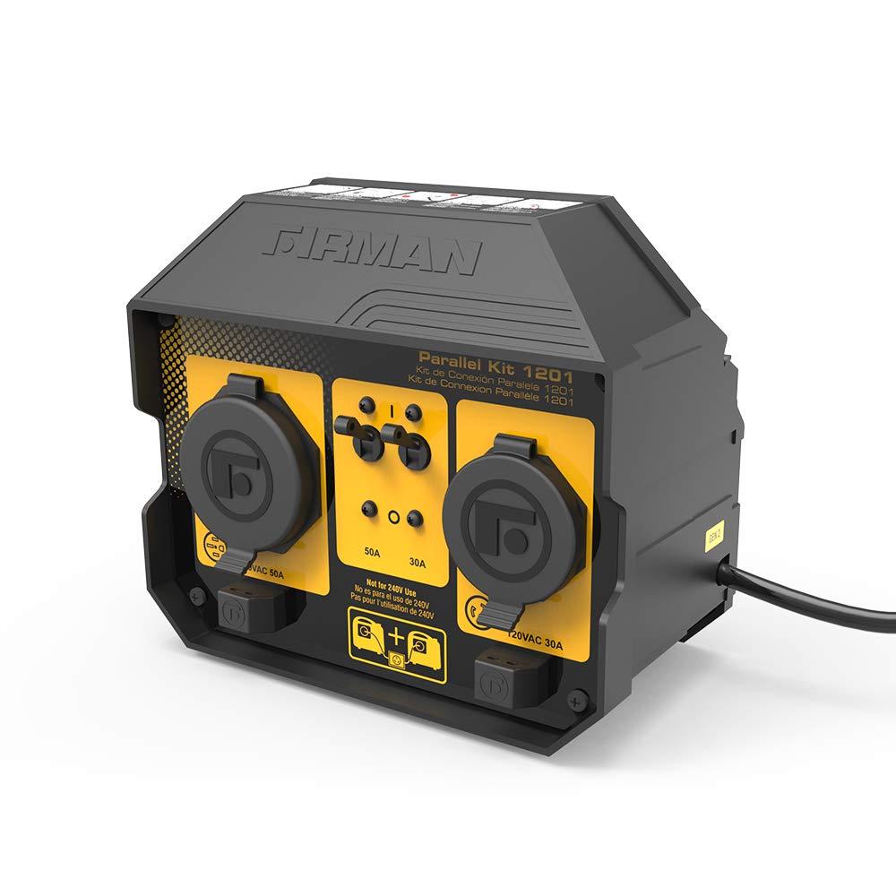 Firman 1201 50 Amp Parallel Kit for Inverter Generators, Black by Firman